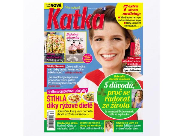 Roční předplatné Katka (52 vydání)