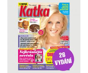 Půlroční předplatné Katka (26 vydání)